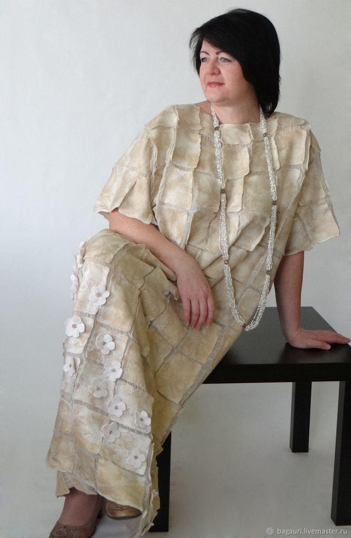 49178c2a978 Валяное платье - купить или заказать в интернет-магазине на Ярмарке Мастеров