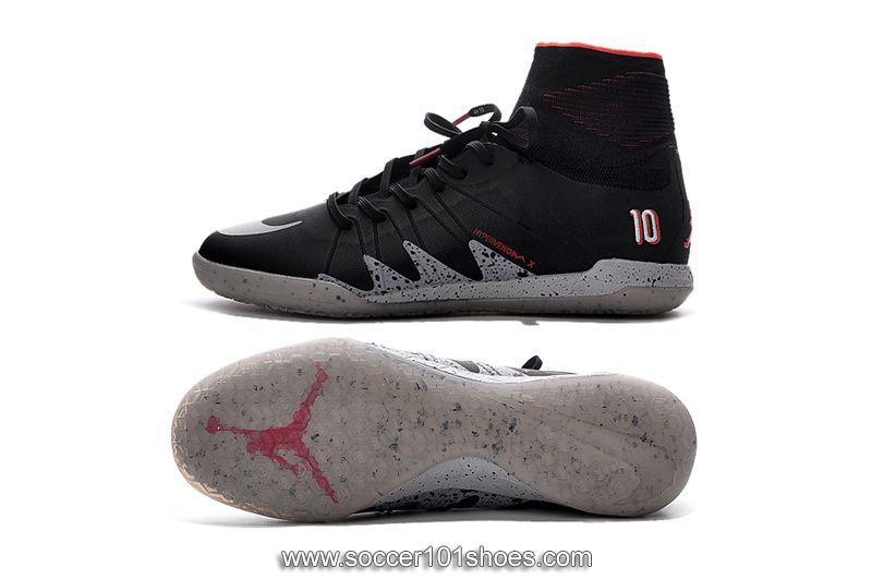 f5ebce93828 Nike Mens Hypervenom Phantom II Indoor NJR×JORDAN IC Football Boots Soccer  Cleats Black $73.00