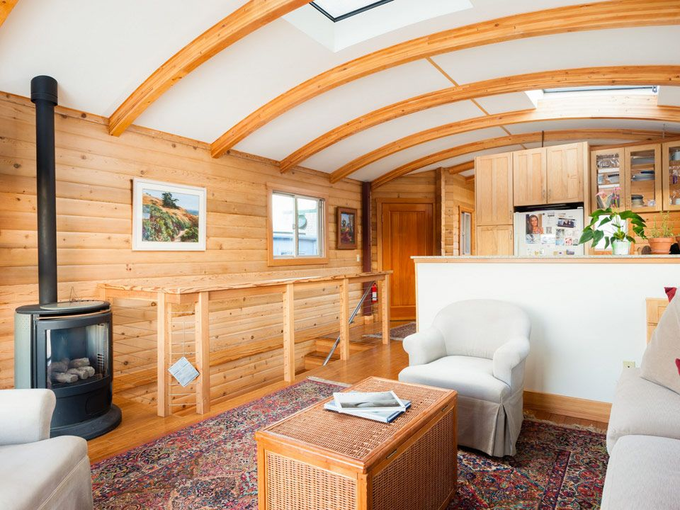 A small custom houseboat in sausalito california pinned
