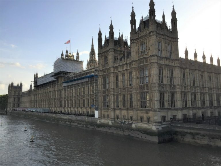 The Sea Before Us Tour of London in 2020 Westminster