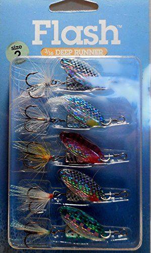 Blue Fox Lure Kits Flash Series 1//8 oz