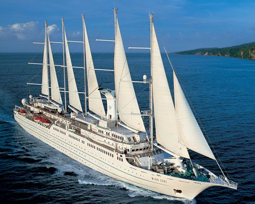 The Wind Surf, a  chic yach that will transport you throughout Italy to 8 amazing destinations.Eight-Day Venice to Rome Cruise by Windstar Cruises