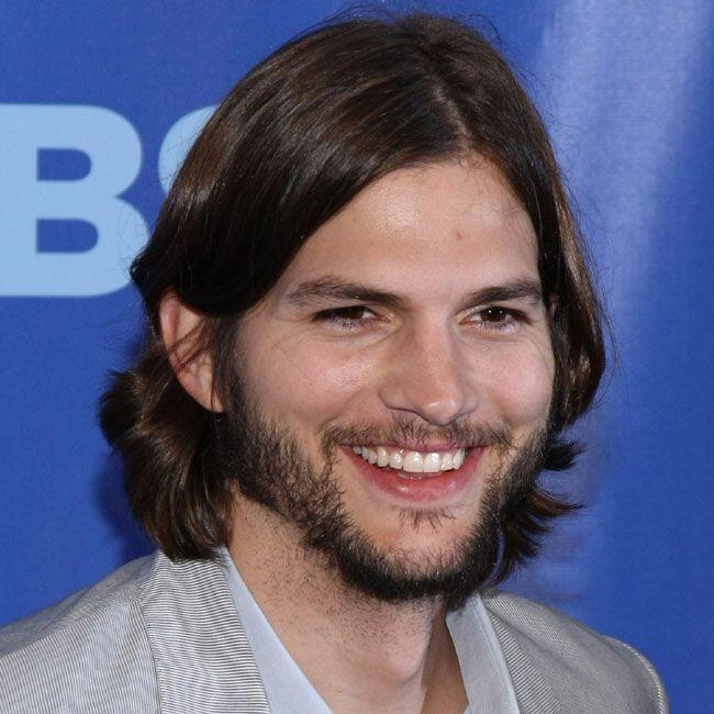 Ashton Kutcher Long Hair Styles Men Long Hair Beard Long Hair Styles