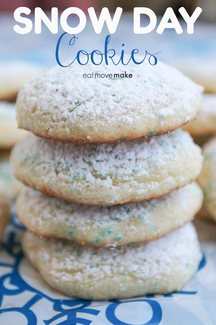 Snow Day Cookies Recipe to Bake with Kids on a Winter Day