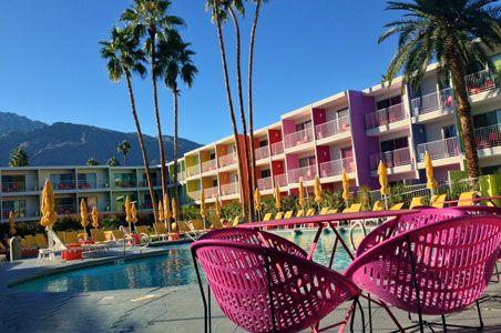 Palm Springs Coolest Boutique Hotels Travel Pinterest Palm