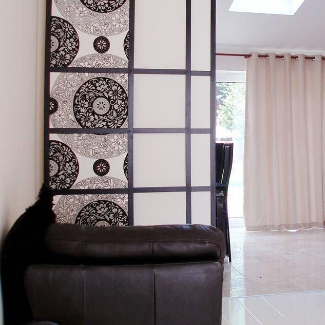 sichtschutz im wohnzimmer paravent pinterest raumteiler raumteiler selber bauen und. Black Bedroom Furniture Sets. Home Design Ideas