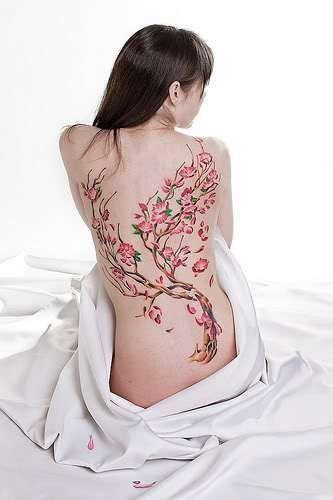 tattoo de cerejeira - Pesquisa Google