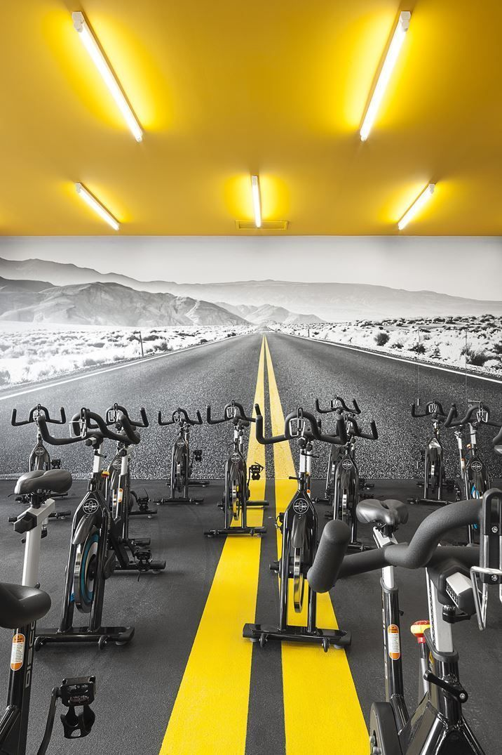 Gym Great Idea For Training Space Tap The Pin If You Love Super Heroes Too Cause Guess What You Wi Fitness Center Design Gym Interior Gym Design Interior