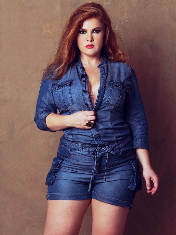 a5478dc9b186 Teagan Brooke Plus Size Denim Romper  UNIQUE WOMENS FASHION ...