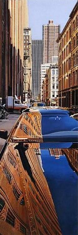 realismo en la pintura urbana de Richard Estes
