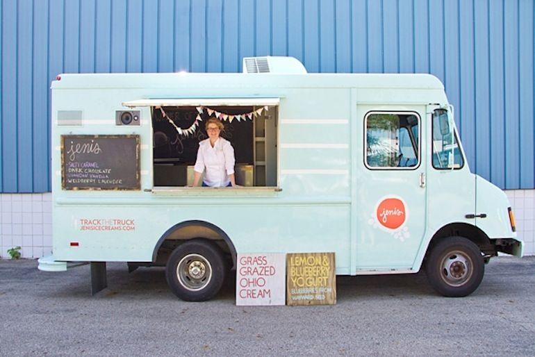 5 foodtrucks à tester d'urgence Camion de crème glacée