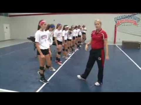 Develop Your Footwork For A Stronger Attack Youtube Volleyball Drills Volleyball Practice Volleyball Workouts