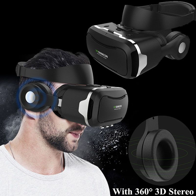 VR Shinecon 4 0 Set VR Glasses/headset with Remote