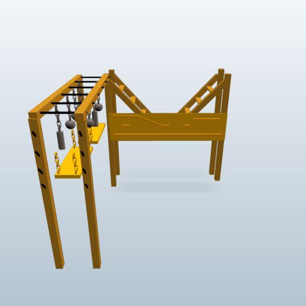 Salmon Ladder Interchangeable Pipe Grasps Globe Grasps And - Build monkey bars ladder