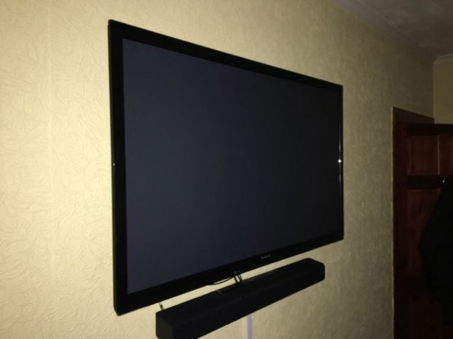 tv on gumtree 50 plasma tv for sale remote control stand sound