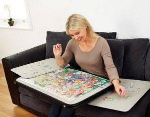 Folding Jigsaw Puzzle Table Choozone Puzzle Table Jigsaw Puzzle Table Puzzle Storage