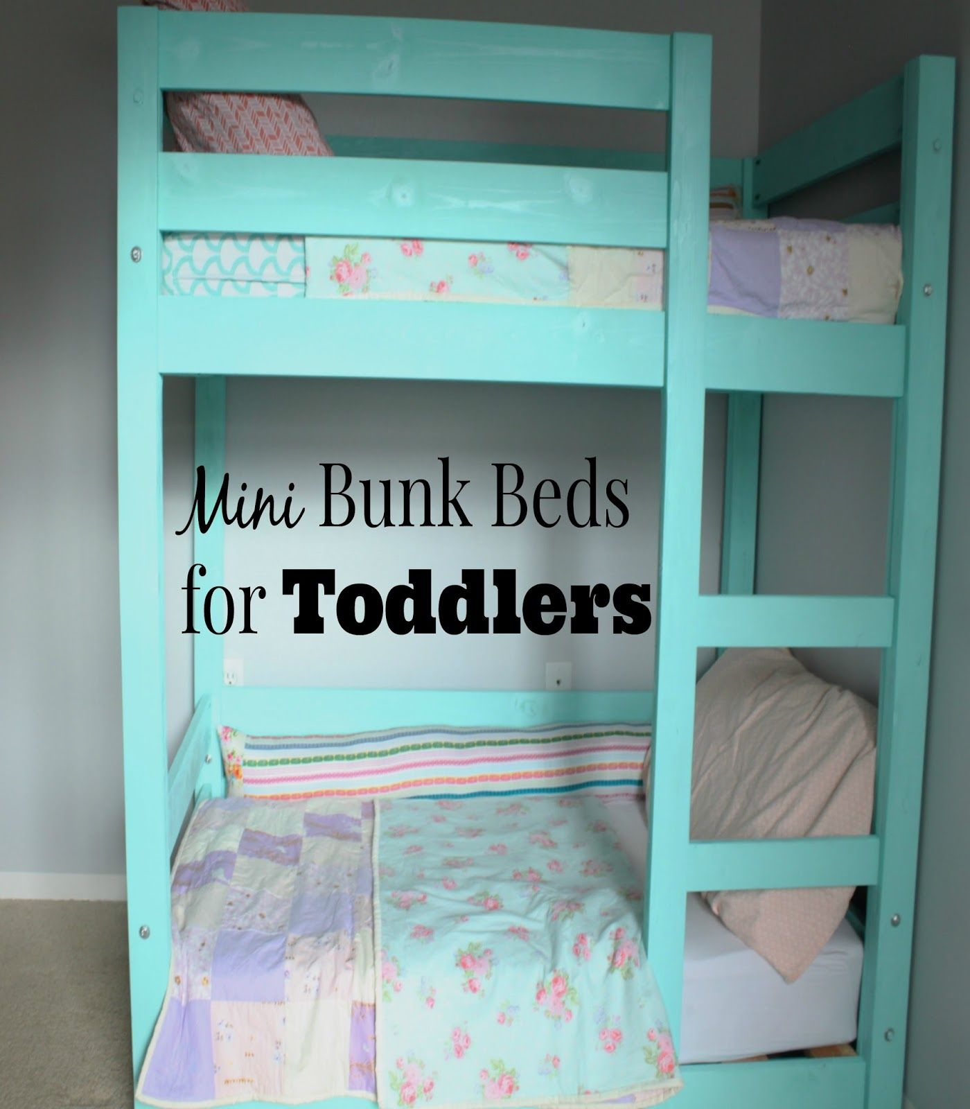 My Little Deers DIY Mini Bunk beds for toddlers Costs less than