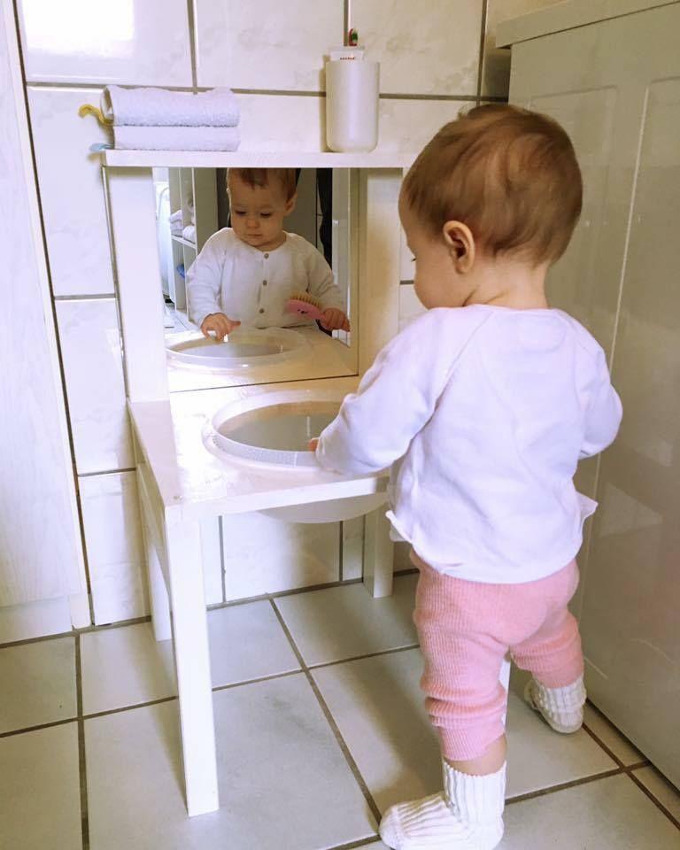 Kinderwaschenbecken Bzw Waschtisch Nach Montessori Art Selber