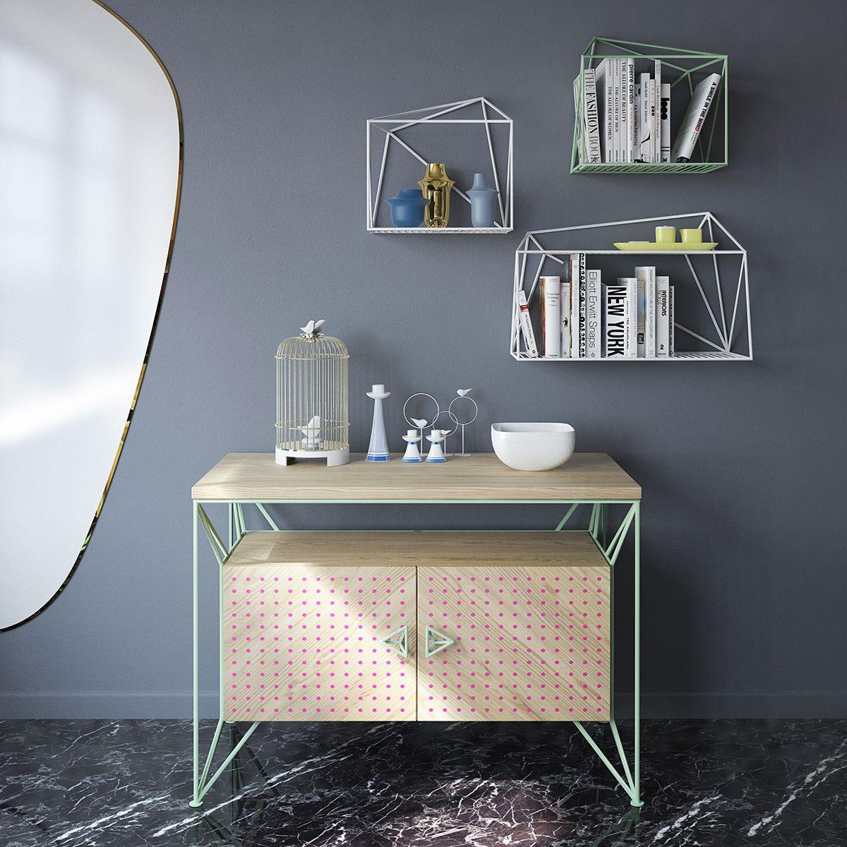 Markers on behance muebles pinterest industrial - Muebles diseno industrial ...