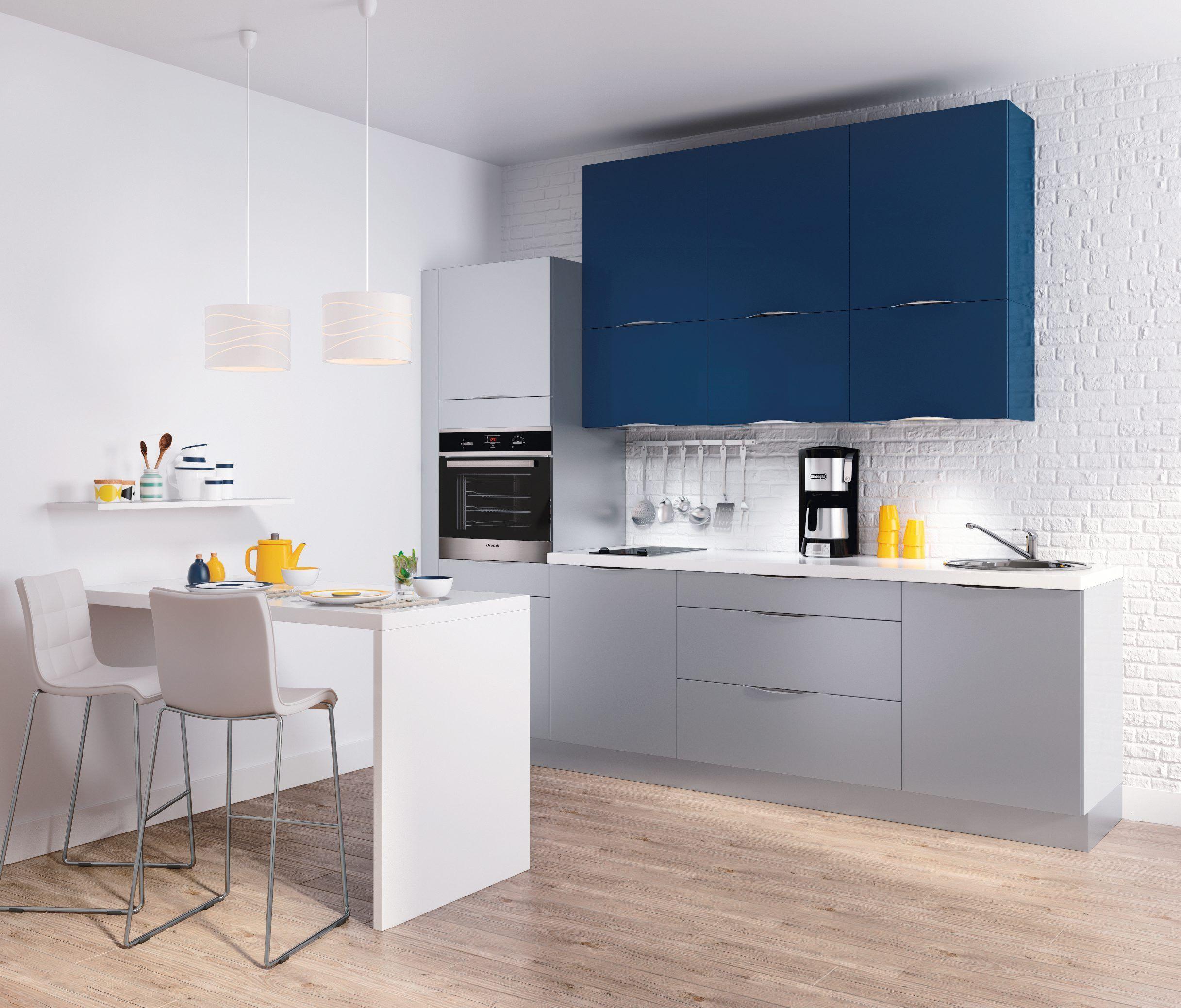 Cuisine saga bleue but la cuisine qui vous ressemble for Cuisine ouverte qui se cache