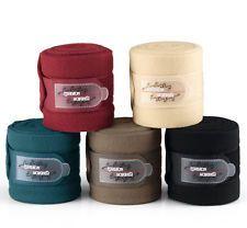ESKADRON Fleecebandagen vanilla, darkred, walnut, petrol & black- NEU