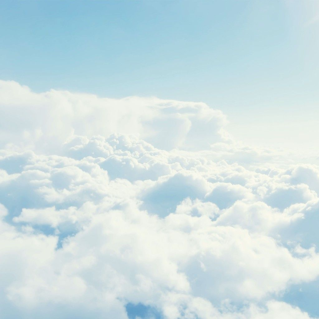 Above White Clouds Ipad Wallpaper Hd Ipad Wallpaper Clouds