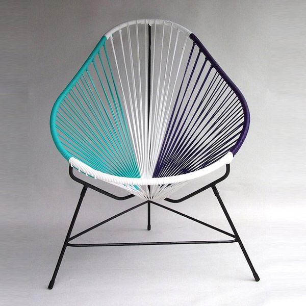 High Quality You Might Remember Ochou0027s Acapulco Chair As A Modern Indoor/outdoor Piece  Of Furniture Created