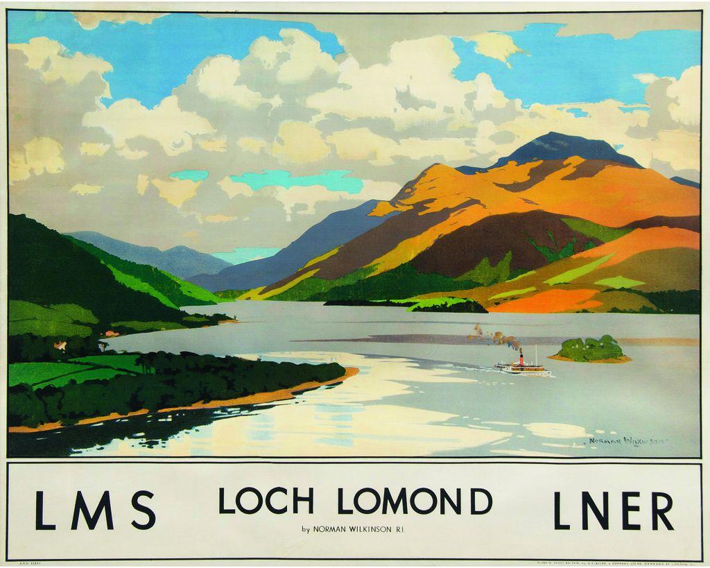 LOCH LOMOND, LMS, LNER