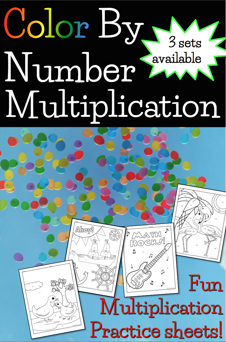 Multiplication Activities. Color By Number Multiplication practice ...