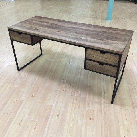 Three Drawer Writing Table   Nadeau Furniture