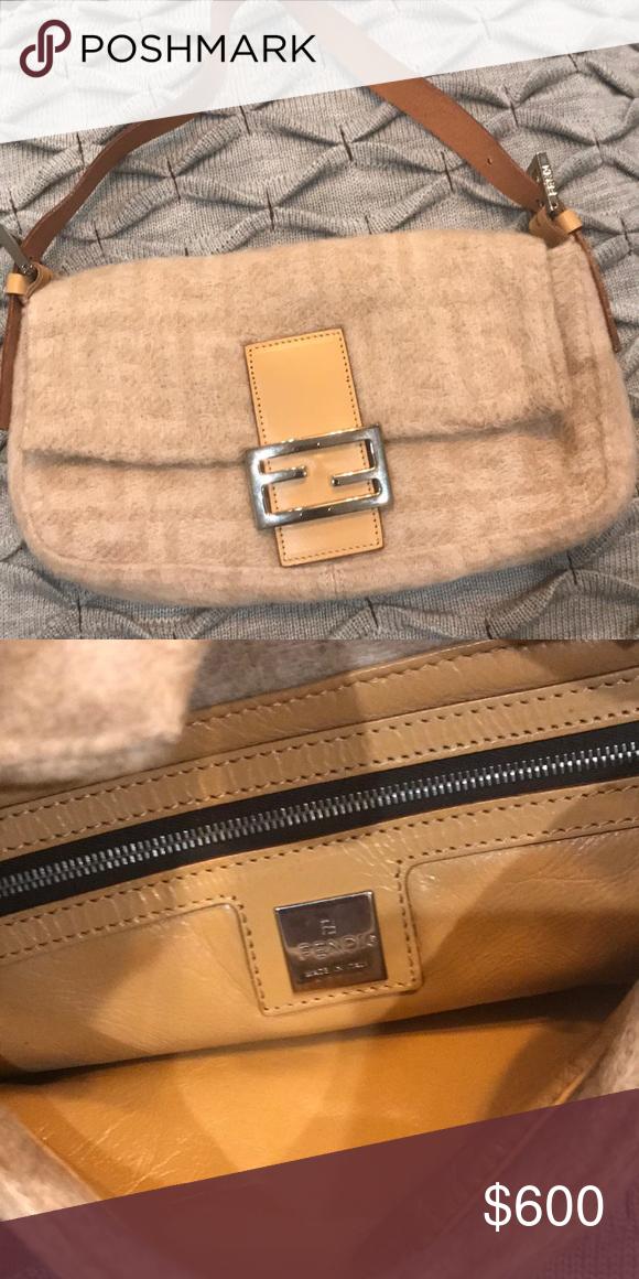 f436e1ae74 ... uk fendi baguette felt fendi baguette excellent condition never used  beautiful brown leather fendi bags shoulder