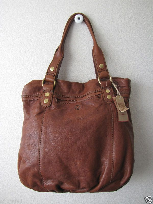 Lucky Brand Trippin Out Tote SM handbag Leather Brn NWT | Pinterest