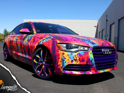 Audi A6 Conservative German Styling Gets A Twist Incognito Wraps