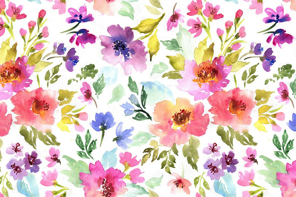 Spring Flowers By Juliett Illustration On Creativemarket Yoyo