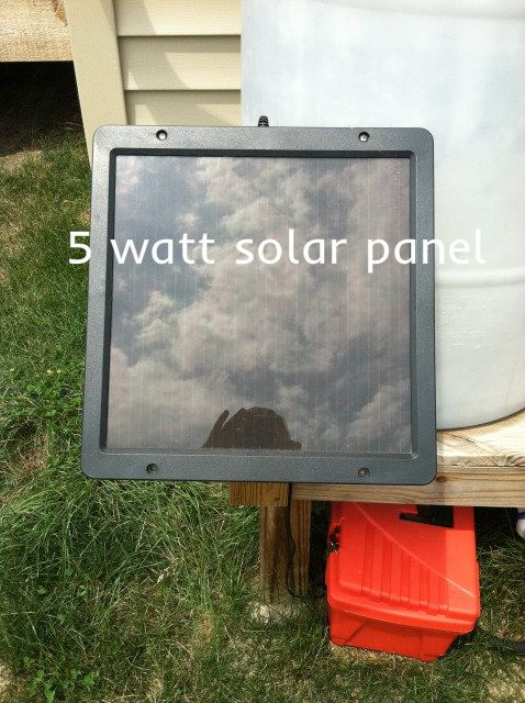 How To Make Solar Powered Water Pump For Water Barrels Sisters Playing House Solar Powered Water Pump Diy Solar Solar Panels
