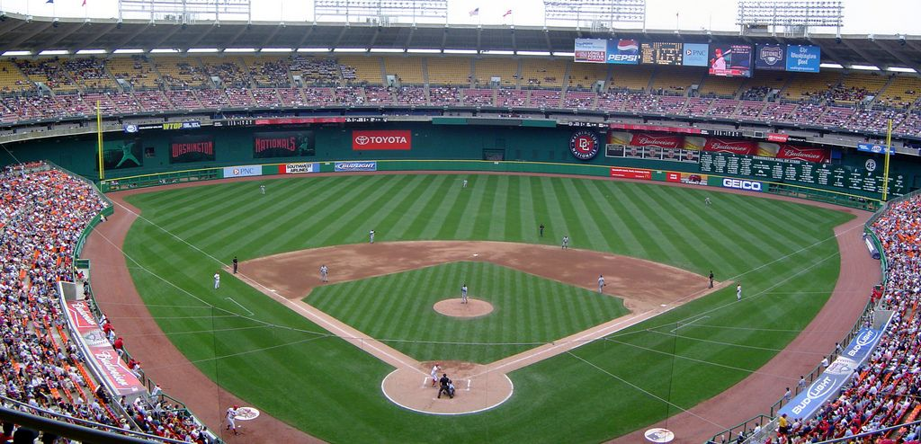 Rfk Stadium Upper Level Stadium Baseball Park Ballparks