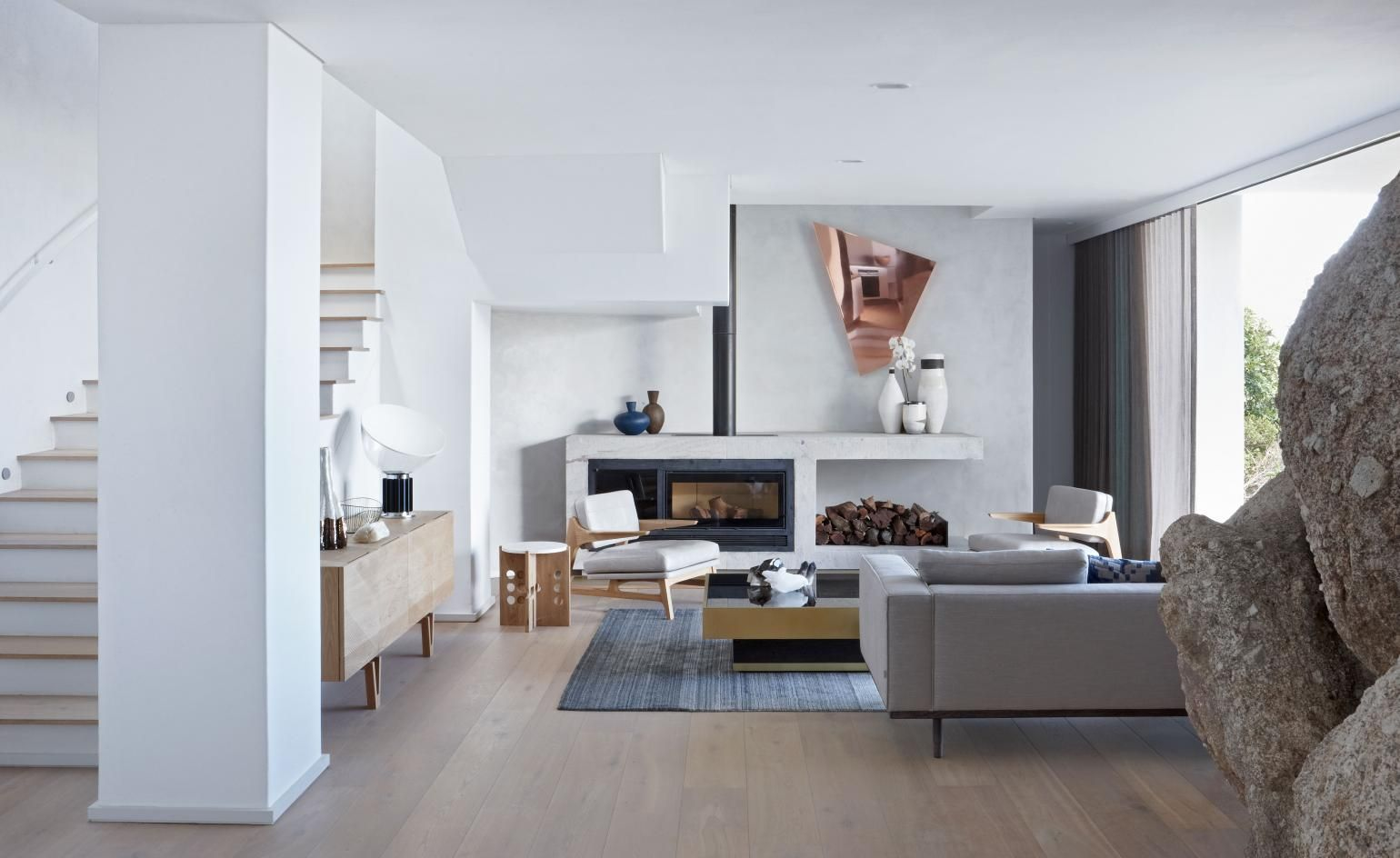 This coastal concrete retreat is a masterclass in african modernist design south african homes african