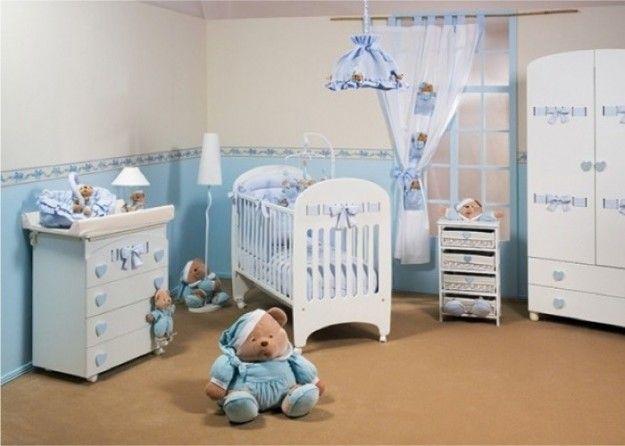 Cameretta Bebè ~ Oltre fantastiche idee su cameretta neonato azzurra su