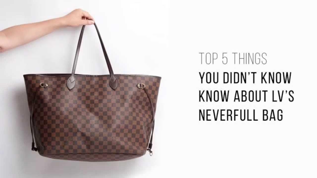 204d9f63e6bf Top 5 things you didn t know about LV s Neverfull bag