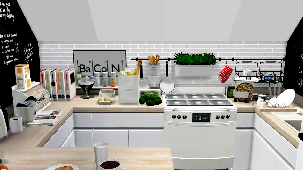 CARLINVAUSES | Sims 4 kitchen, Sims house, Sims 4 houses