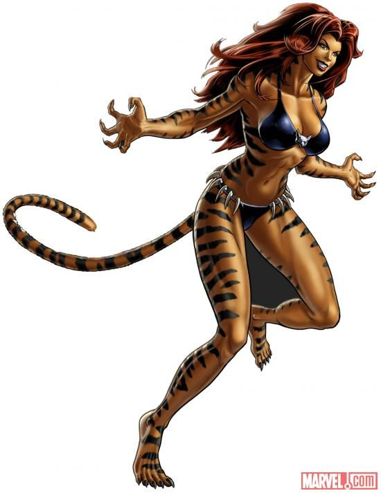 Image of Tigra (Marvel Avengers Alliance) - Comic Vine