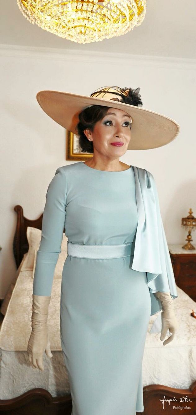 Zambonino | Elegant dress | Pinterest | Vestidos para señoras, Cosas ...