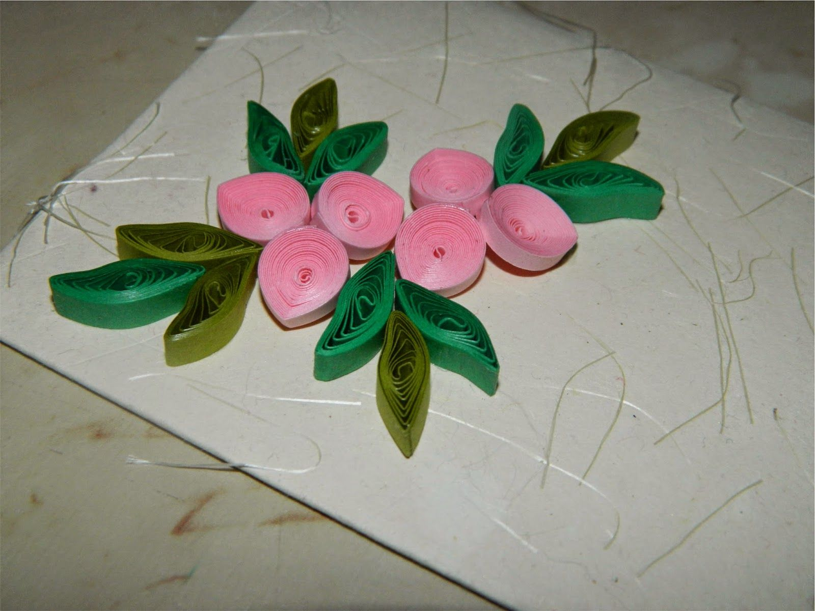 Creative art craft work paper quilling designs for for Paper quilling work