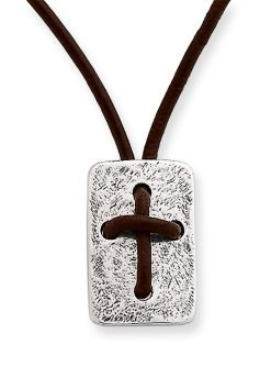 Leather cross shield necklace james avery christmas gifts pinterest leather cross shield necklace james avery aloadofball Choice Image