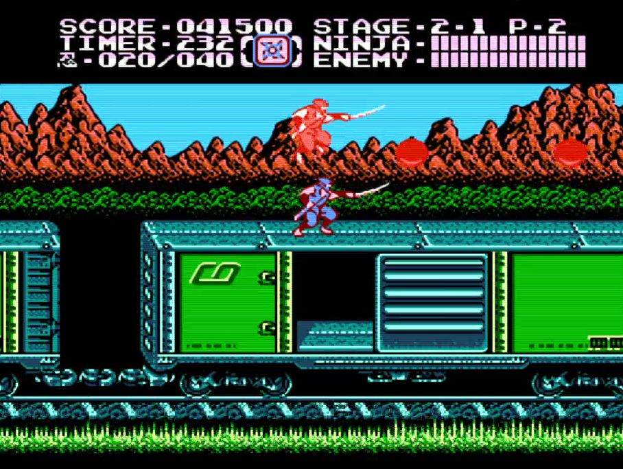 Ninja Gaiden 2 Nes On The Retron 5 Hq2x Filter Scanlines On