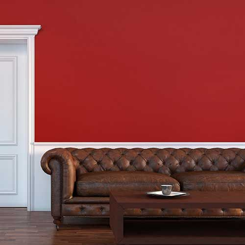 Red Peel And Stick Tempaint Milano Red Red Wallpaper Home Decor Accent Wall Bedroom