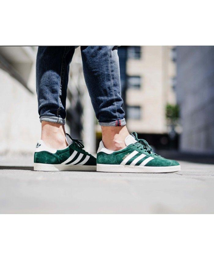 oben adidas Originals Gazelle Sneakers In Green BB5265 Klick