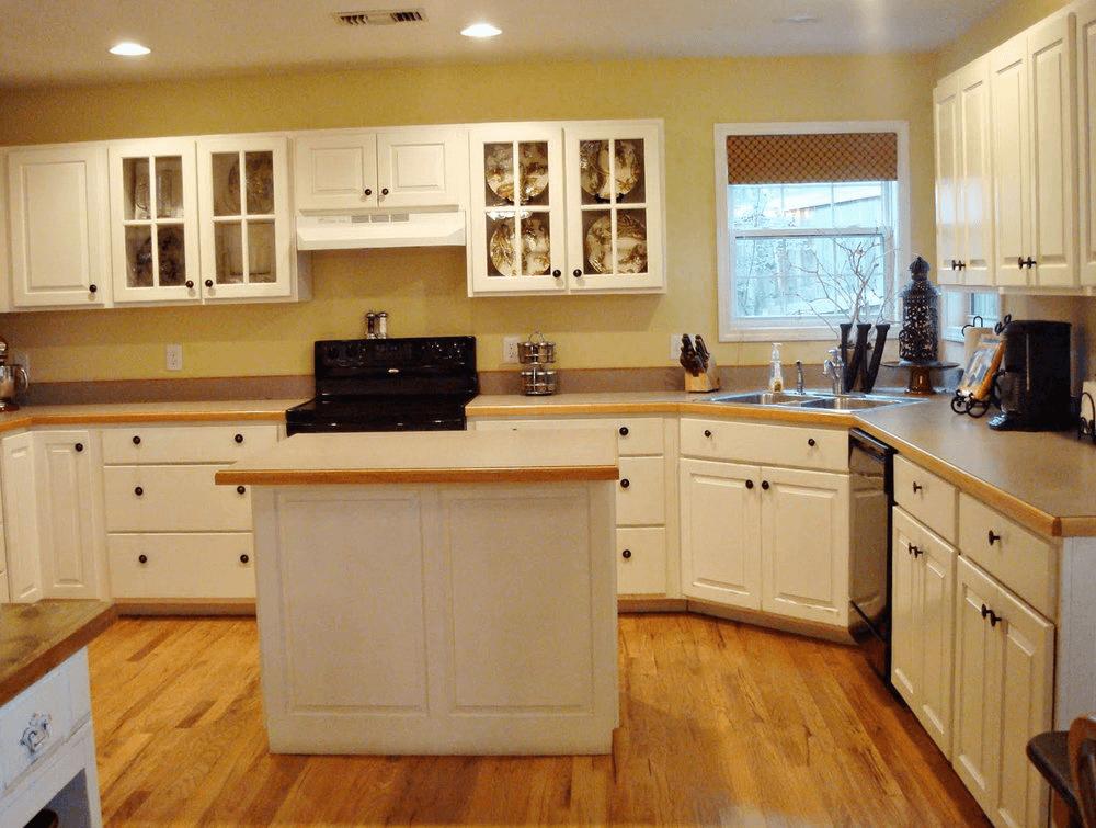 Kitchen Countertops Without Backsplash Kitchen Without