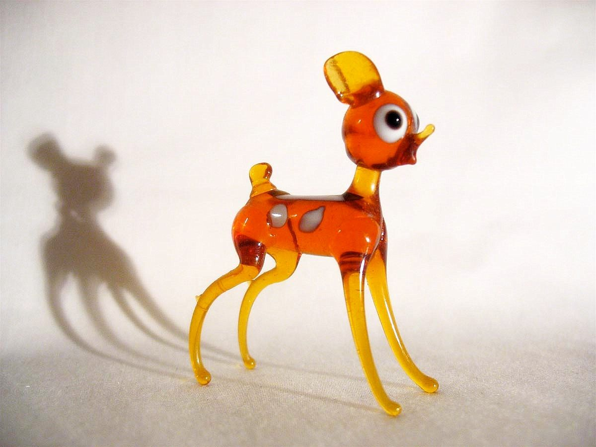 Glass animal ornaments - Hand Blown Glass Animals