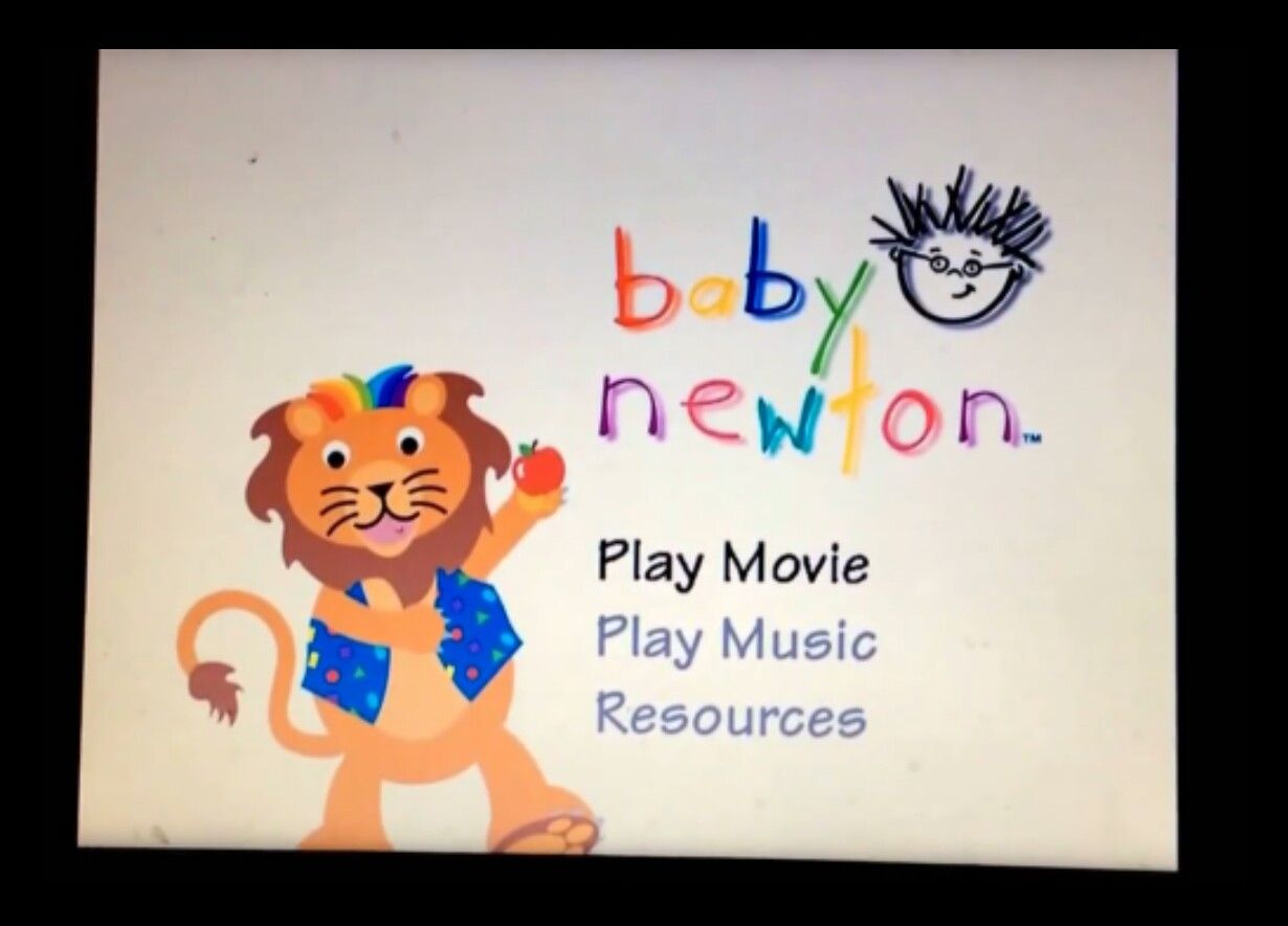 Baby Newton Dvd Menu Baby Einstein Dvd Menu Pinterest